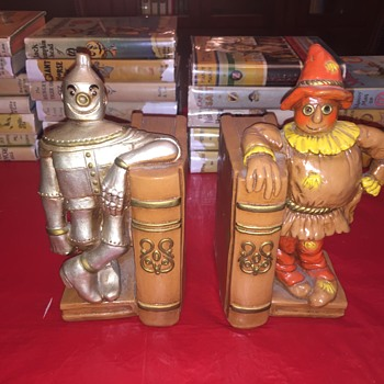 Wizard of Oz bookends from 1970s - Books