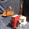Arts and Crafts Hammered Copper Flower Basket and More Flea Market Finds