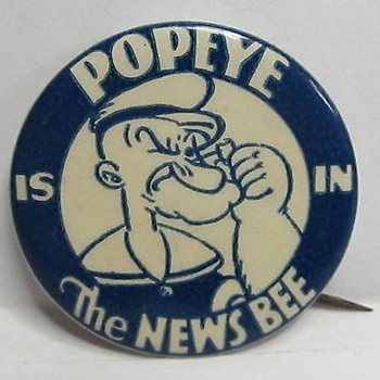 1930's  Newspaper advertising premium - Medals Pins and Badges