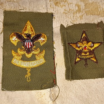 Saturday Evening Scout Post Rank and Patrol Patches 1945-1954 - Medals Pins and Badges