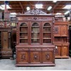 Antique French Victorian Bookcase circa 1890's