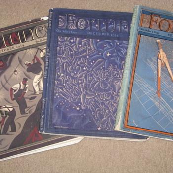 """1934 """"Fortune"""" magazines - Paper"""