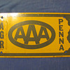 Pennsylvania AAA Sign