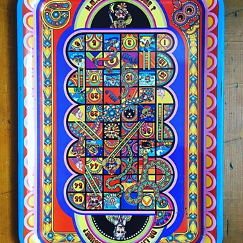 Original 1969 Dave Roe Polypop Tray