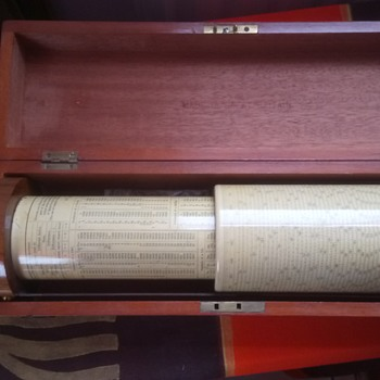 Fuller Cylindrical Calculator - slide rule - Office