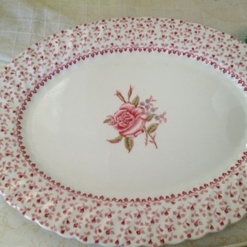 My mothers wedding  china - China and Dinnerware