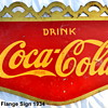 1934 Coca-Cola Flange Sign