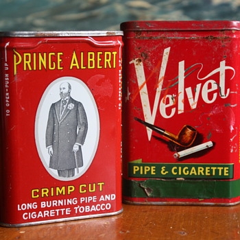 Two Tobacco Tins - Tobacciana