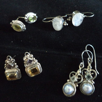 Himalayan Gemstone Earrings