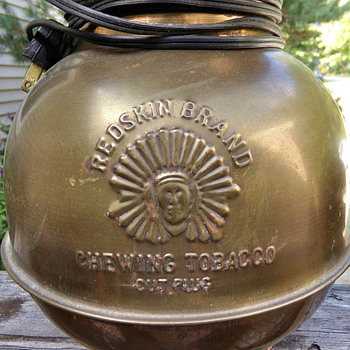 Spittoon Lamp? - Tobacciana