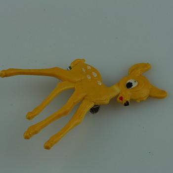 Bambi the bambi brooch - Costume Jewelry