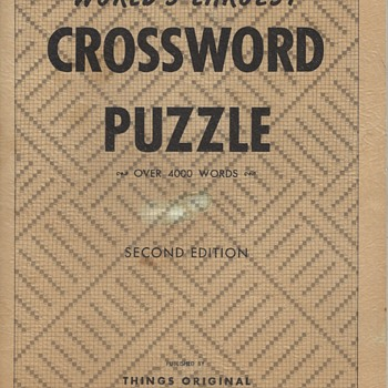 World's Largest Crossword Puzzle - Games