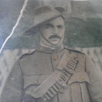 Great Grandfathers Boer War Photo - Photographs