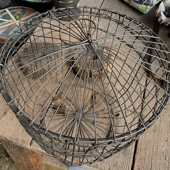 Collection of Old Wire Baskets - Furniture