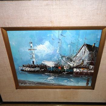 Nautical Oil Painting - Fine Art