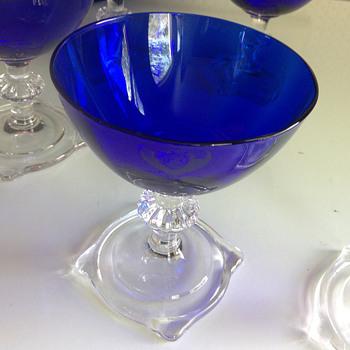 Grandma Ethel's Sherbet Dishes - Glassware