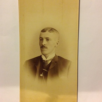 Odd Shaped Cabinet Card - Photographs