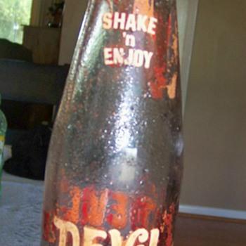 Devil Drink Bottle  Made 7-67