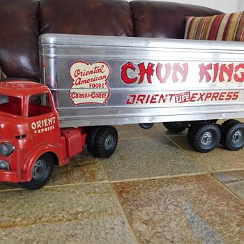 Chun King Wyandotte Truck....Unrestored. - Advertising
