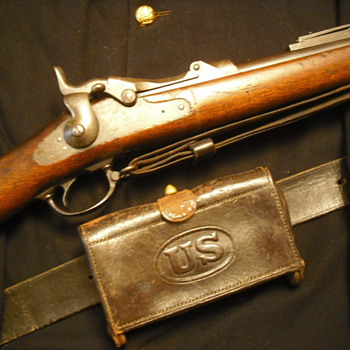 U.S. Model 1884 Springfield Rifle - Military and Wartime