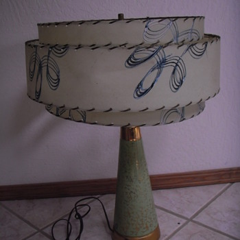 what is the name and year of this interesting table lamp? Very cool. - Lamps