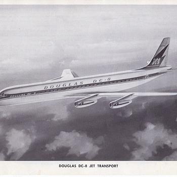 Douglas Aircraft Seires The DC-8 - Advertising