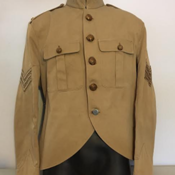 WWII Black Watch Sergeant's Khaki Drill Frock  - Military and Wartime