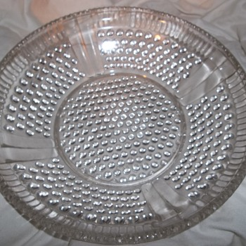 possibly eapg hobnail bowl nice and heavy - Glassware