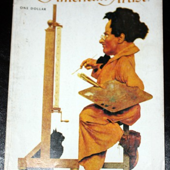 American Artist Magazine - 1973 - w/ interesting article on Maxfield Parrish - Paper