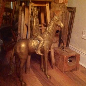 Brass horse - Figurines