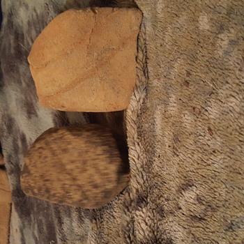 Native american abrading stone art,works - Native American