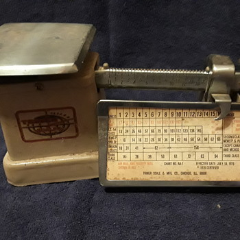 TRINER postage scale, ca. 1976 - Office