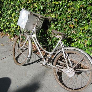 Rare Bicycle N.K Works White Indian North Korea ? Hong Kong  - Sporting Goods