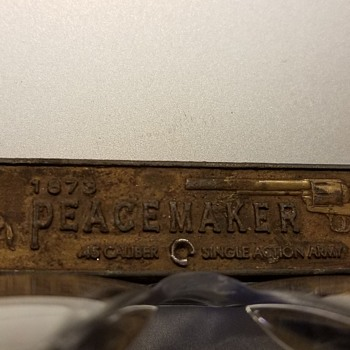 1873 Peacemaker Colt 45 Pocket Knife - Tools and Hardware