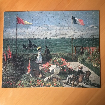 Monet painting at the St. Andres Terrace - Games