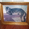 """SUMMER CAT""  by Theophile Steinlen,  lithograph"