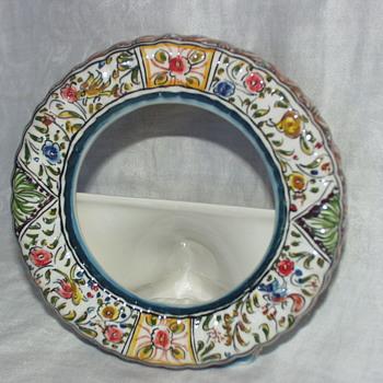 Purpose of this Portuguese Ceramicas de Coimbra object? - Pottery