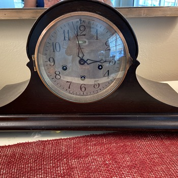Ansonia No 8 BIG MYSTERY QUESTIONS - Clocks