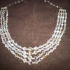 Grandma's vintage crystal necklace and clip earrings