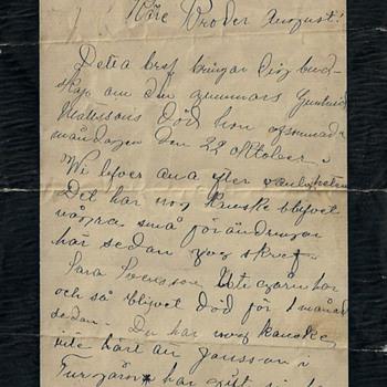Unkown letter - Paper