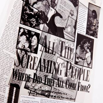 Beatles Newspaper Editorial Drafts