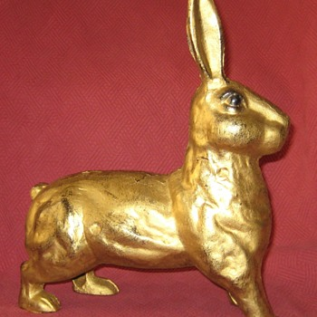 Cast Iron Standing Hare Doorstop - Animals
