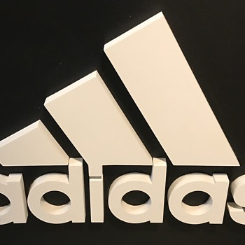 Adidas sign. - Signs