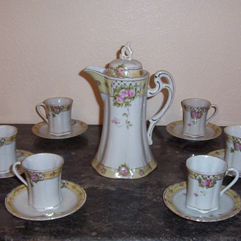 Chocolate Service For Mrstyndall - China and Dinnerware