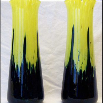 Ruckl ? vases  - Art Glass