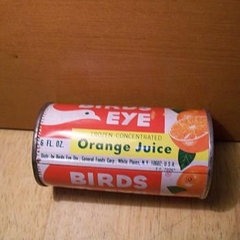 Frozen orange juice - Advertising