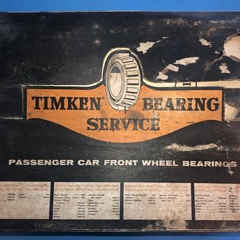 Timken vintage nos bearings kit - Advertising