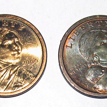 More than one experimental rinse tested on Sacagawea dollar coin in year 2000 - US Coins