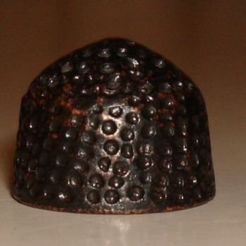14th-16 century beehive thimble?