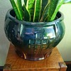 Roseville arts and crafts blended jardiniere